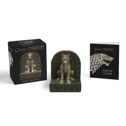 Game of Thrones: Stark Direwolf (Miniature Editions) Paperback & Statue