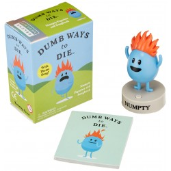Dumb Ways to Die: Numpty Figurine and Songbook (Miniature Editions)