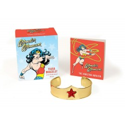 Wonder Woman Tiara Bracelet and Illustrated Book (Running Press Mini Kit & Book)