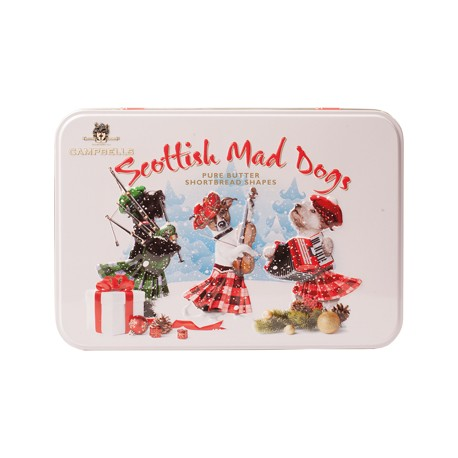 Campbells Christmas Scottish Mad Dogs Shortbread In Tin