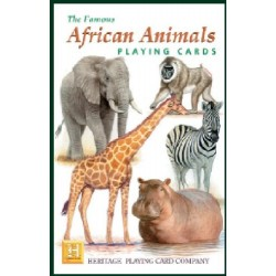 Heritage Playing Cards - African Animals Playing Cards [Toy]