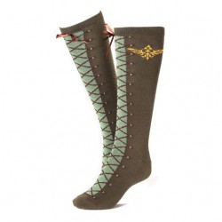 Zelda Logo Stockings green