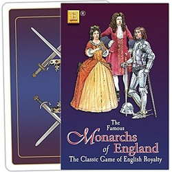 Monarchs of England playing card game (hpc)