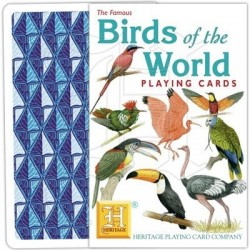 Heritage Playing Cards Birds of the World