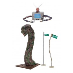 A Nightmare on Elm Street Freddy Deluxe Neca Diorama Accessory Set