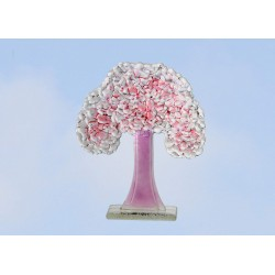 Fused Glass Four Seasons Tree Collection - Spring