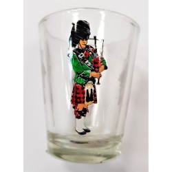 Scottish Piper Shot Glass