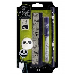 The Nightmare Before Christmas Stationery Kit, Multi-Colour, 12.5 x 21.5 cm, 5-Piece