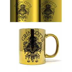 Harry Potter Wizarding World Multi Coloured-11oz/315ml (Gringotts) Metallic Mug