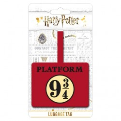 Harry Potter 9 3/4 Luggage Tag Official Licensed Product