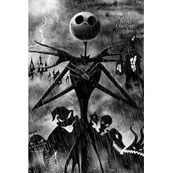 The Nightmare Before Christmas Storm Poster