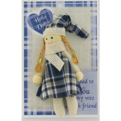 Tartan Doll a wee Scottish gift  Hello Dolly