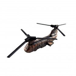 Metal Replica Chinook Helicopter Die Cast Pencil Sharpener
