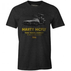 Back to the Future T-Shirt - Marty McFly Large