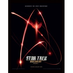Star Trek Discovery Red Angel Insignia 30 x 40 cm Framed Print