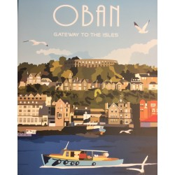 Oban Tea Towel