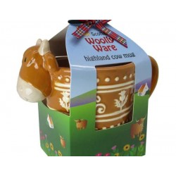 Highland Cow Woolly Ware Celtic Mug