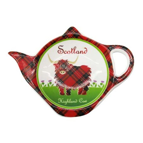 Highland Cow Teabag Holder