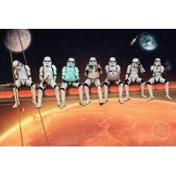 Stormtroopers Poster, Multi-Colour, 61x91.5cm
