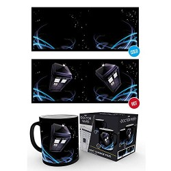 Doctor Who Tardis Heat Changing Mug